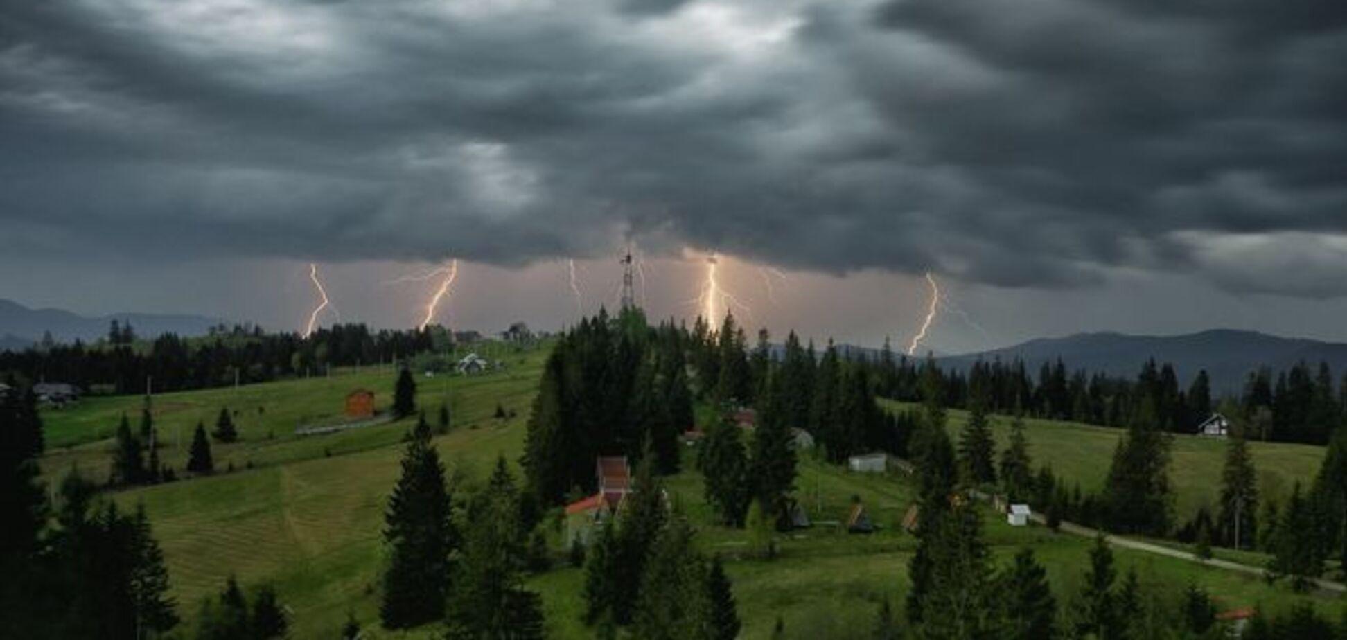 В Україні оголошено штормове попередження на 19 липня