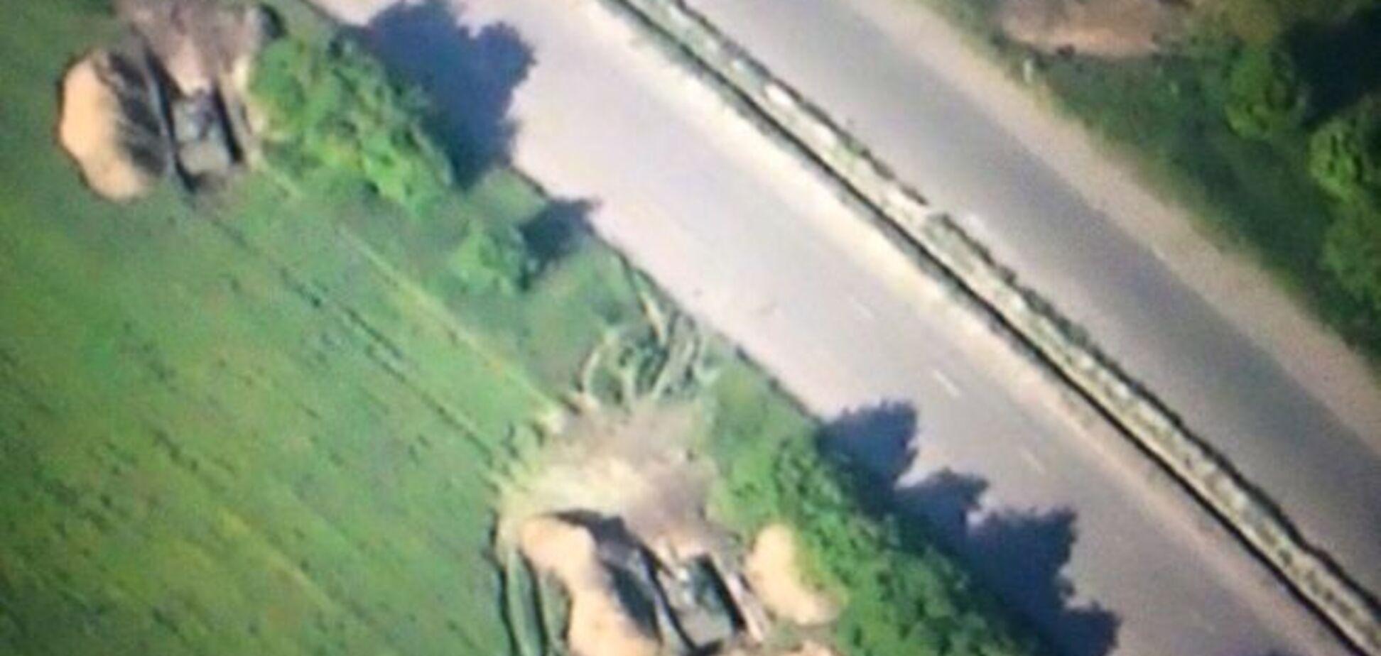Как террористы 'ДНР' тяжелую технику 'отводят': фотофакт