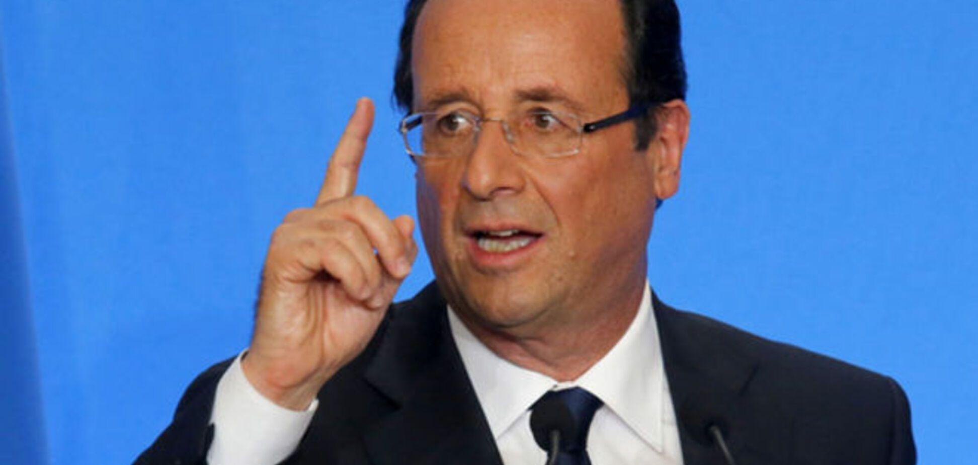 Олланд закликав до створення ще одного уряду в ЄС
