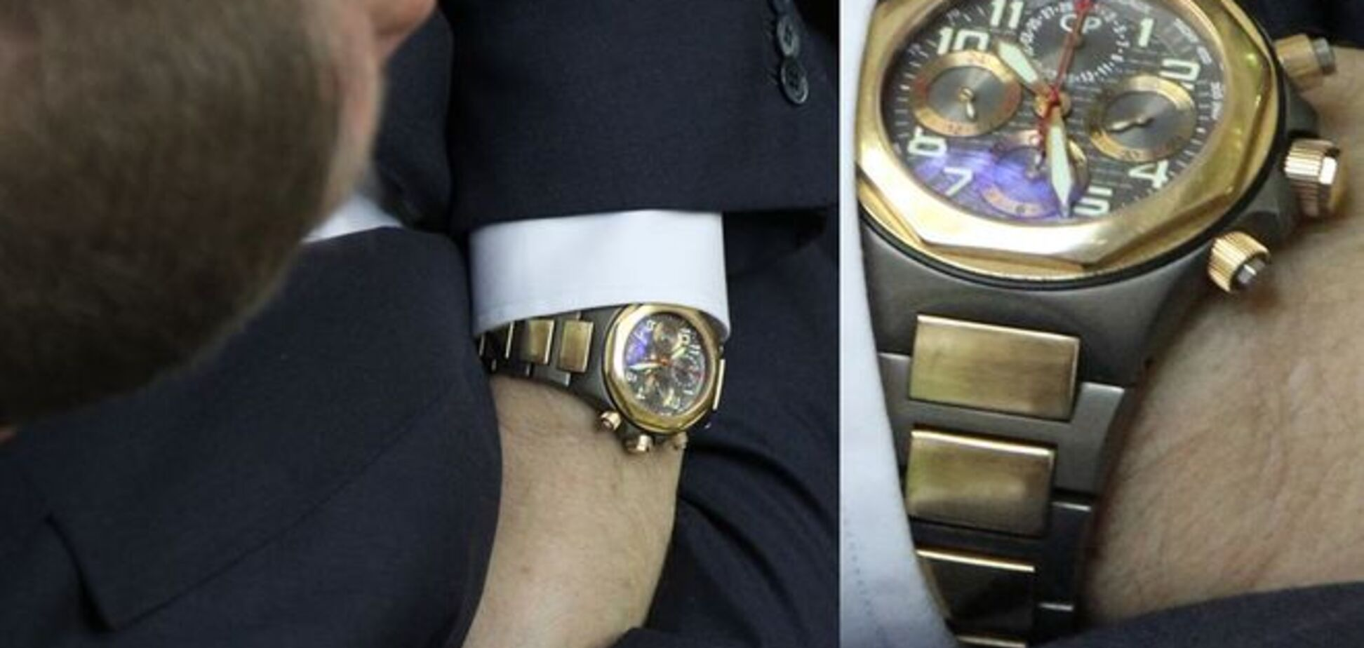 Нардепа Денисенка засікли з годинником за 240 тис. гривень: фотофакт