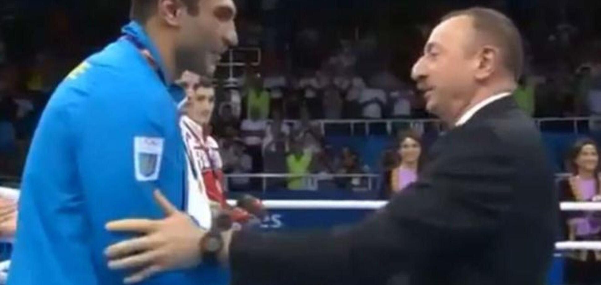 Президент Азербайджану не дозволив освистати спортсмена з України: яскраве відео
