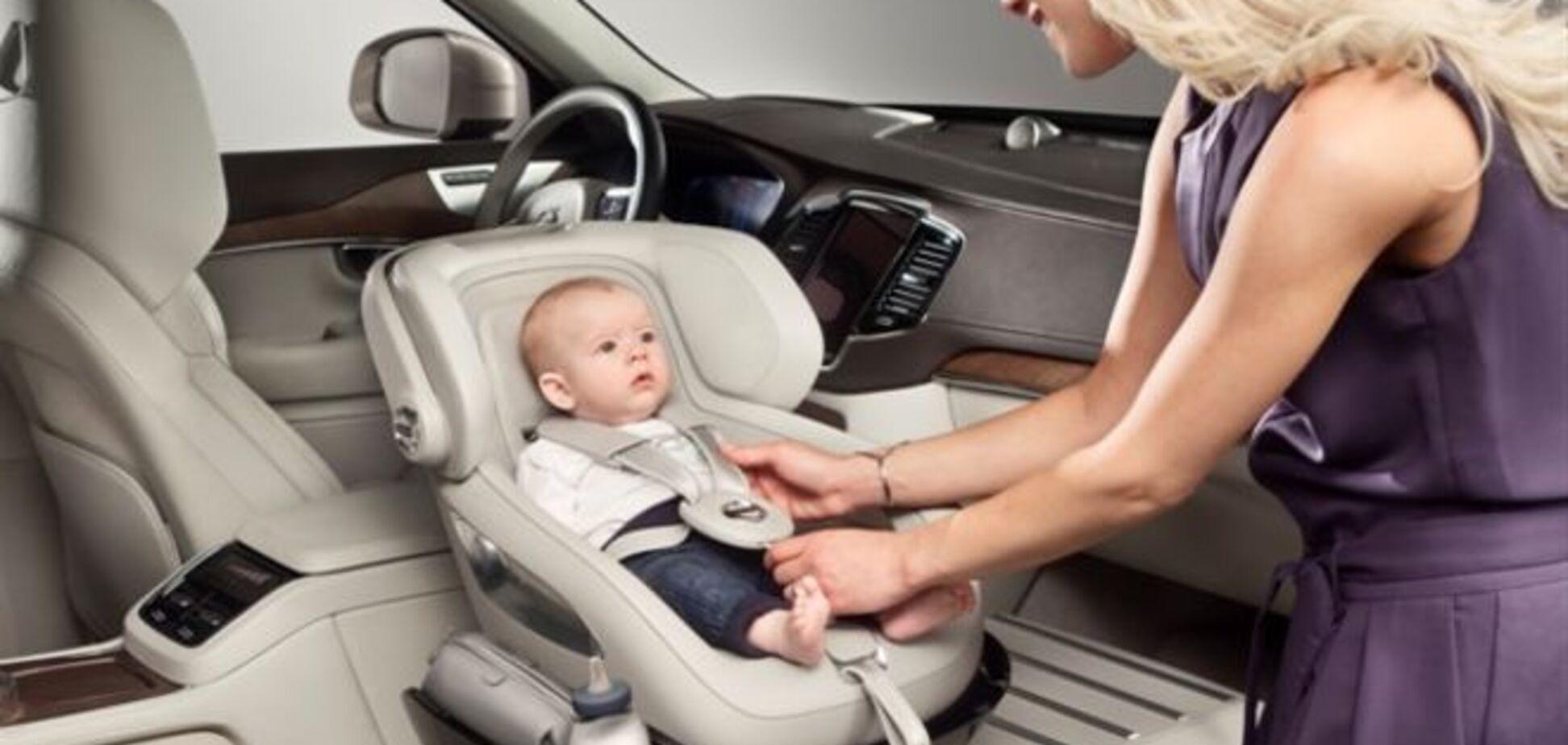 Volvo сделала автомобиль для младенцев: фото и видео
