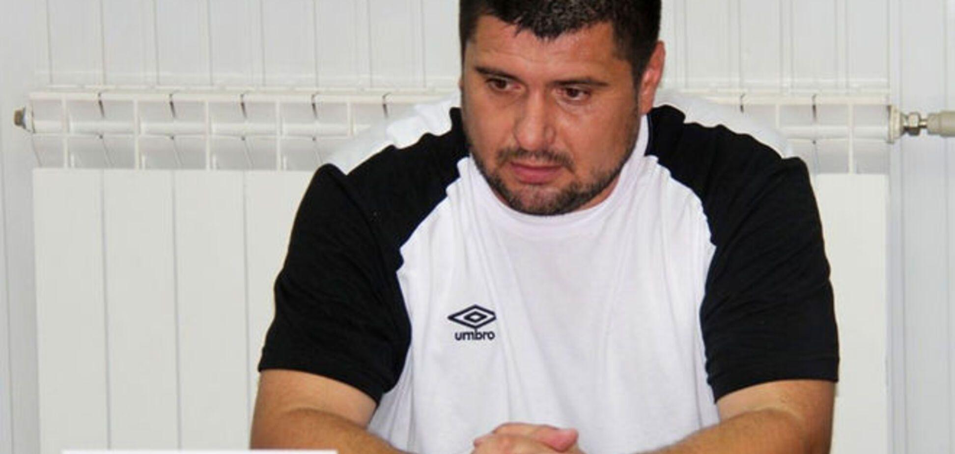 Тренер 'Сталі': мої футболісти 'Динамо' тільки по телевізору бачили