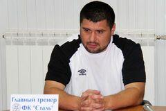 Тренер 'Стали': мои футболисты 'Динамо' только по телевизору видели