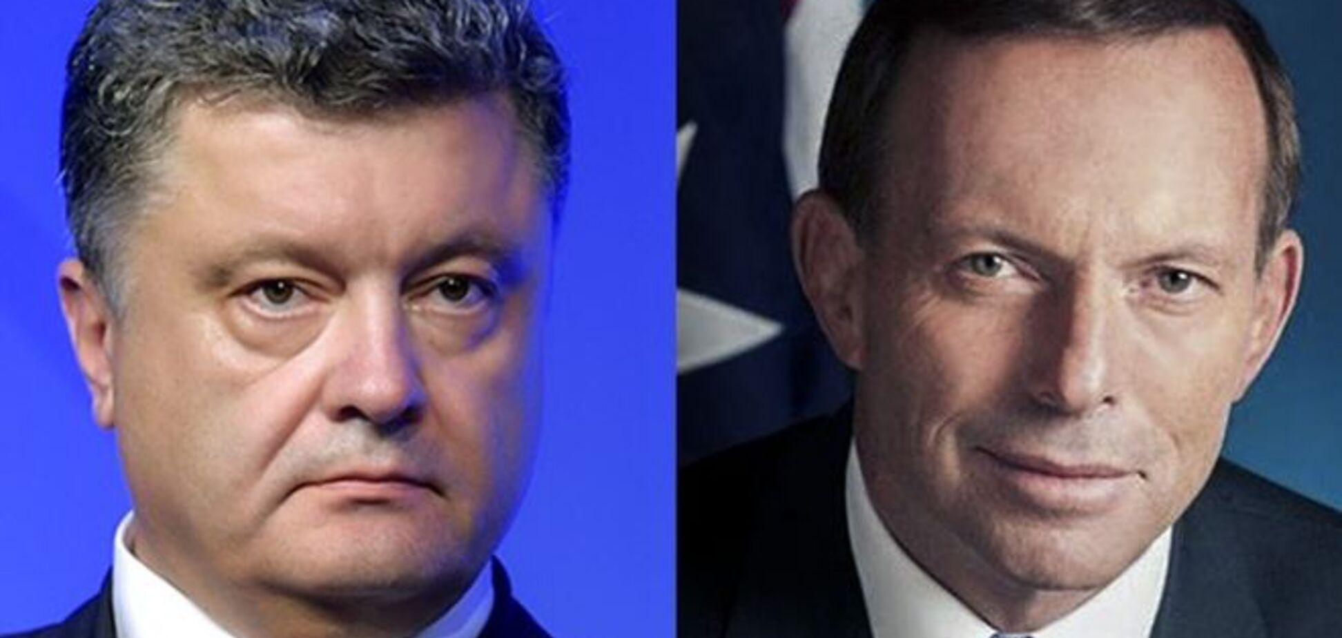 Порошенко домовився з Австралією про трибунал по 'Боїнгу'