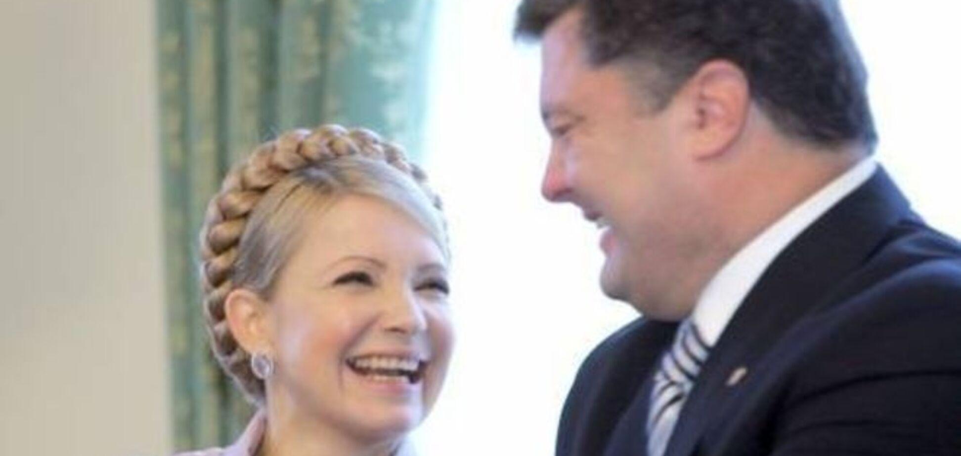 Більшість українців бачать президентом Порошенка, Тимошенко - друга