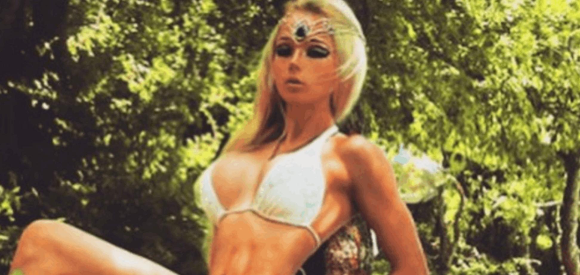 Одесская Барби поделилась секси-фото с отдыха в аннексированном Крыму