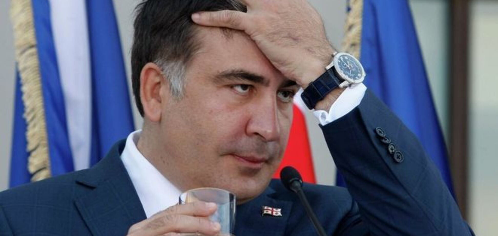 Саакашвілі 'засватали' в прем'єри Молдови: фотофакт