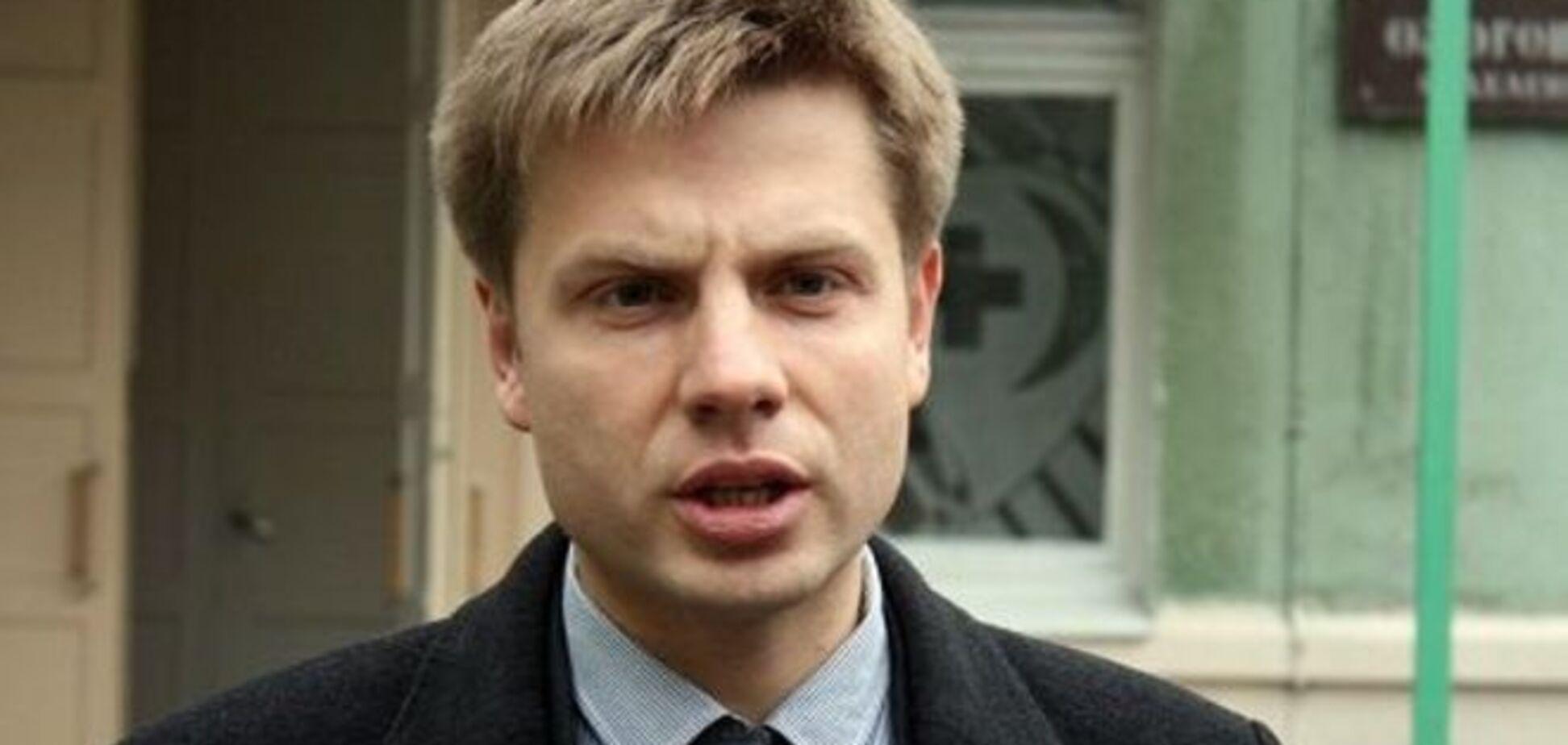 П'яний Гончаренко проводив ревізію машини на виборах у Чернігові