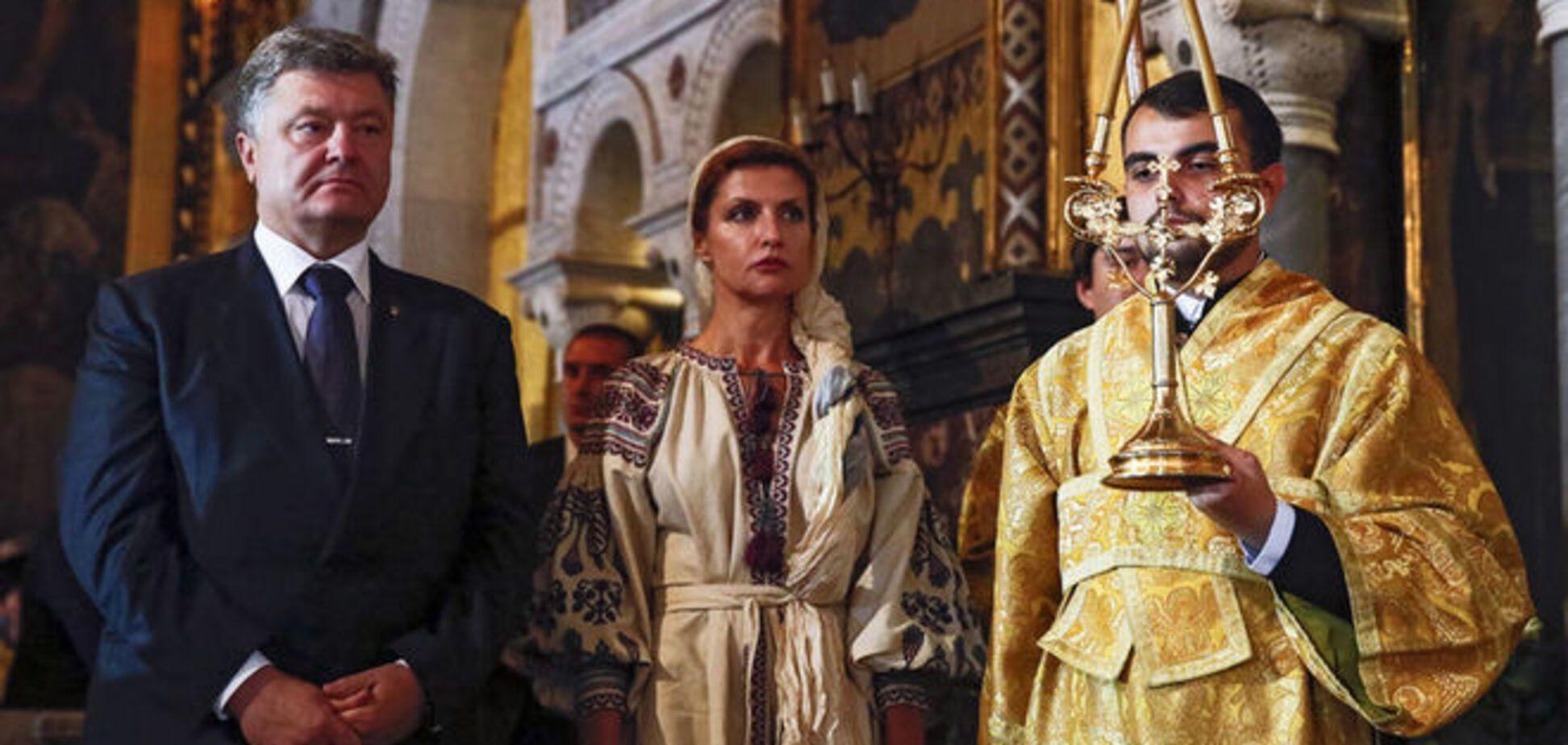 Марина Порошенко поразила старинной вышиванкой: опубликованы фото