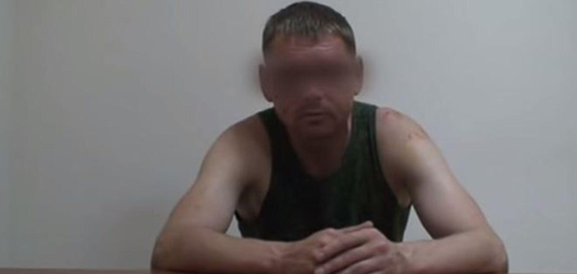 СБУ опубликовала полное видео допроса пленного российского майора Старкова