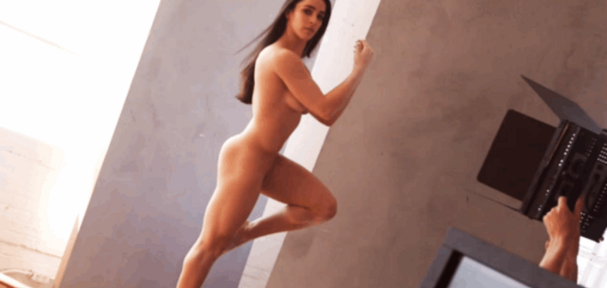 Двукратная олимпийская чемпионка обнажилась перед камерами