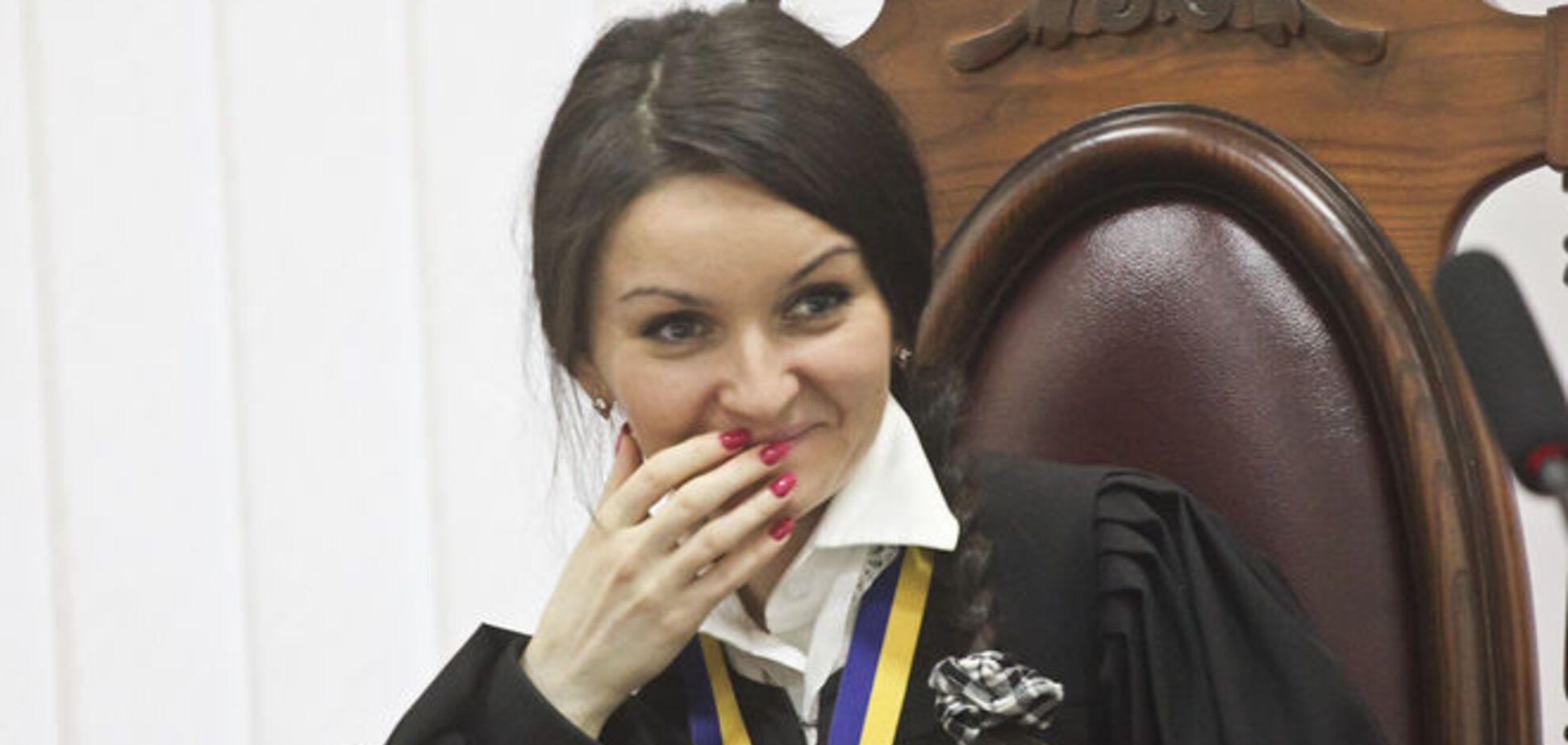 Одіозна суддя Царевич, знявши електронний браслет, взялася за 'айдаровців': опубліковані документи
