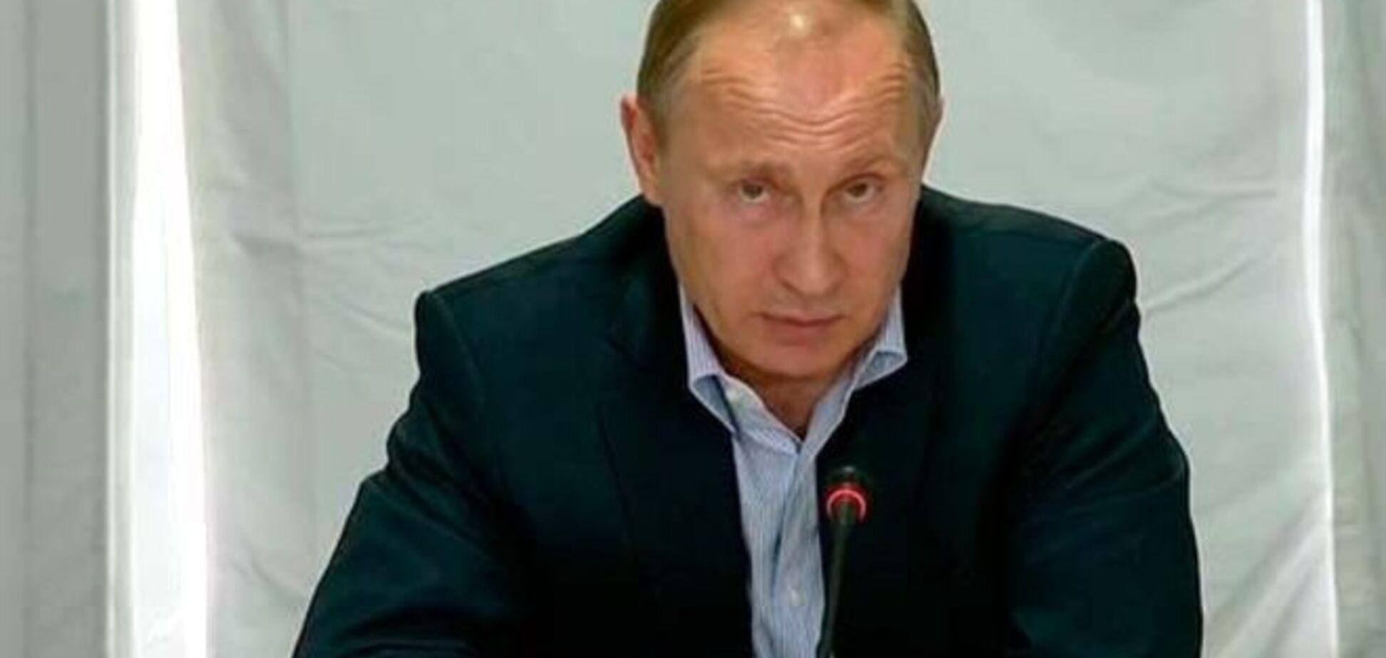 Путин спешно созвал Совбез из-за 'угроз безопасности России'