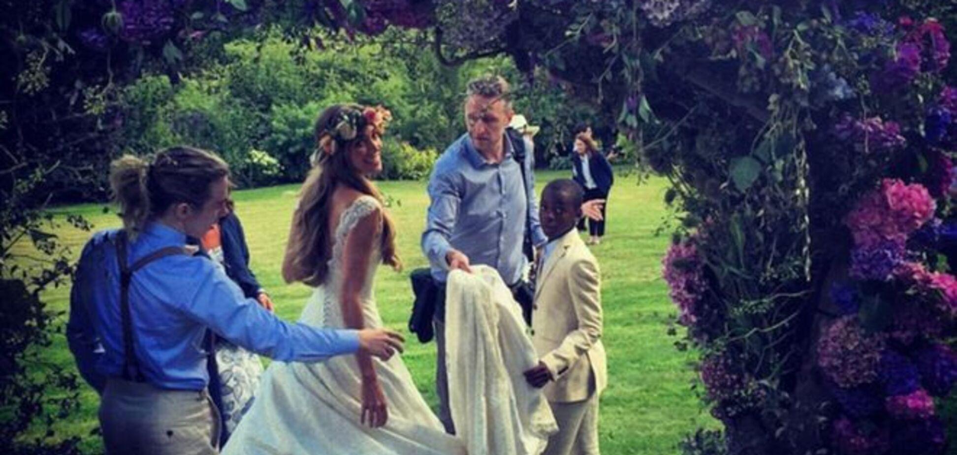 Голливудские звезды погуляли на роскошной свадьбе Гая Ричи с красавицей-моделью