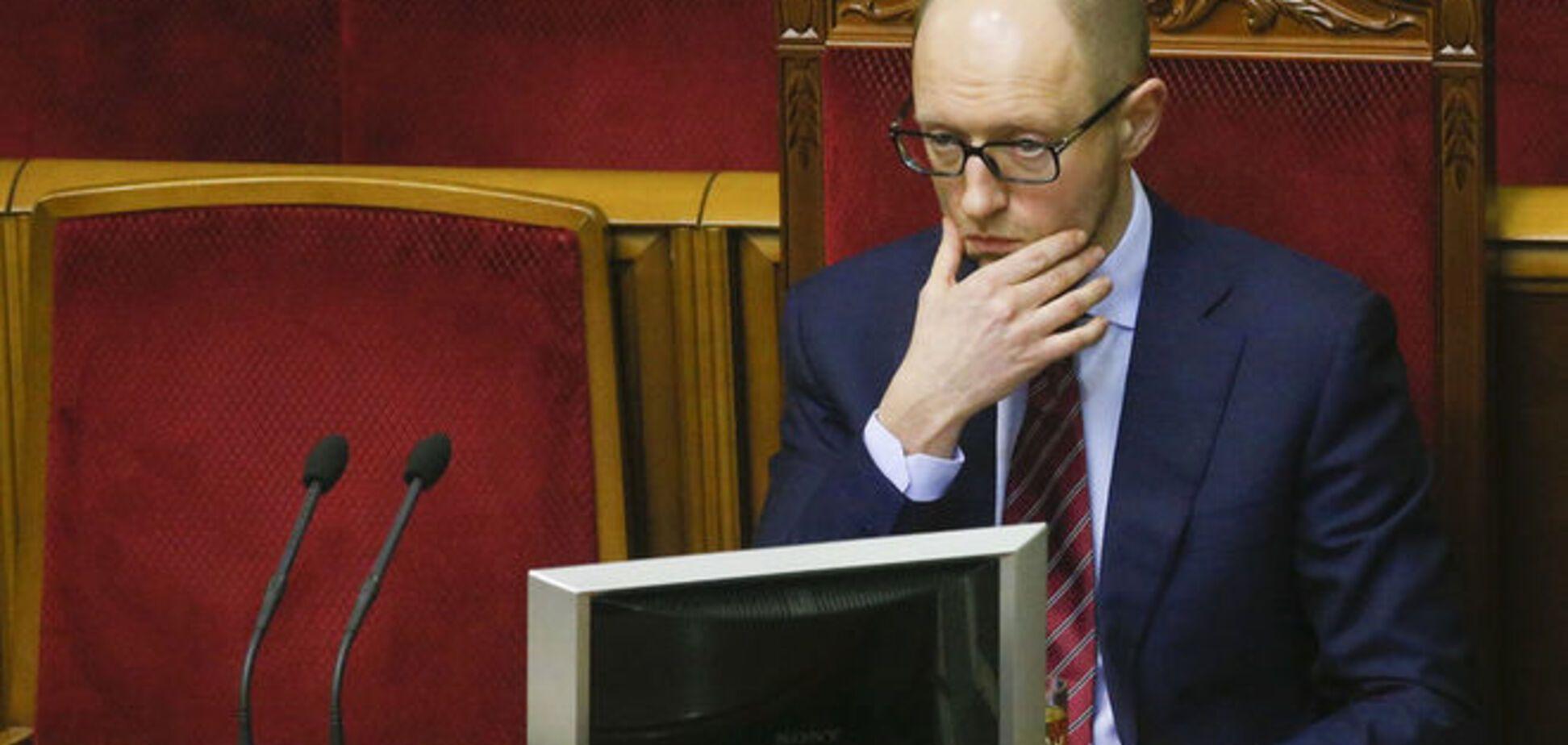 Яценюк признал, что Украина не готова к зиме