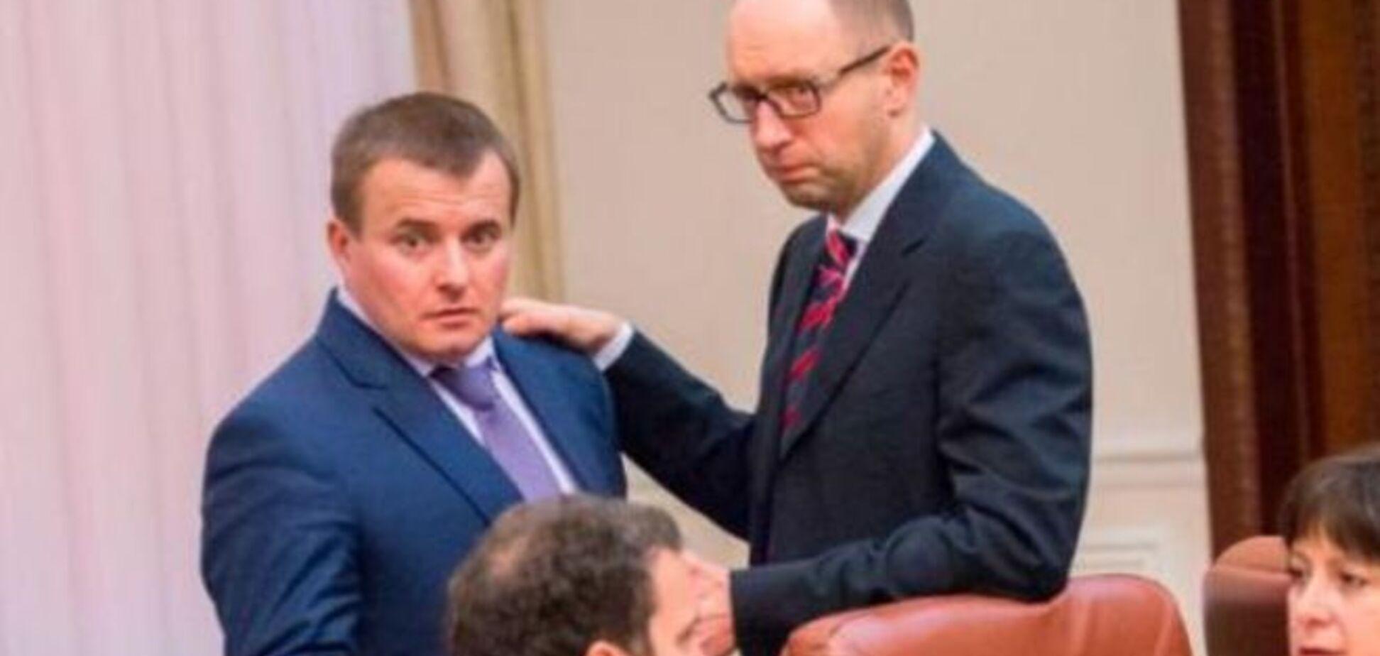 Яценюк посылал Демчишина 'в ж…у' и называл 'конченым брехлом' - экс-глава Минэкологии