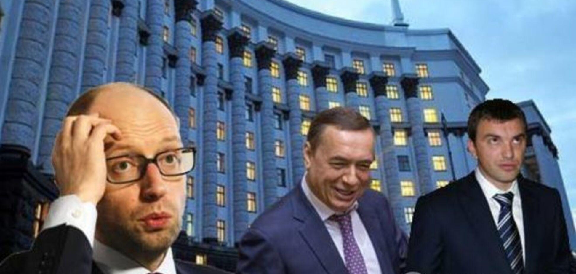 Яценюк лоббирует интересы трех соратников - Шевченко