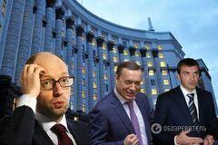 Яценюк лобіює інтереси трьох соратників - Шевченко