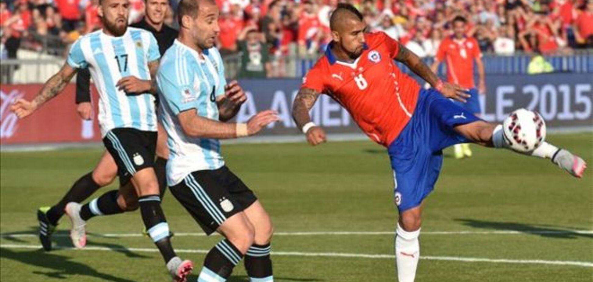 Чили впервые завоевали Кубок Америки, разгромив по пенальти Аргентину