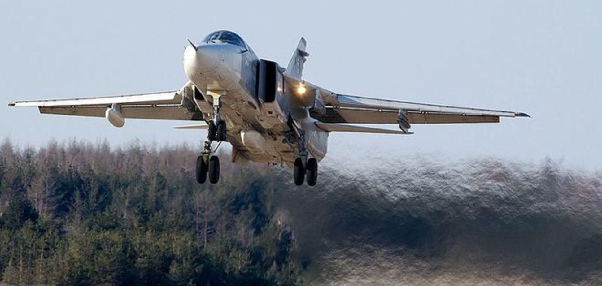 В России во время взлета разбился бомбардировщик с полным боекомплектом