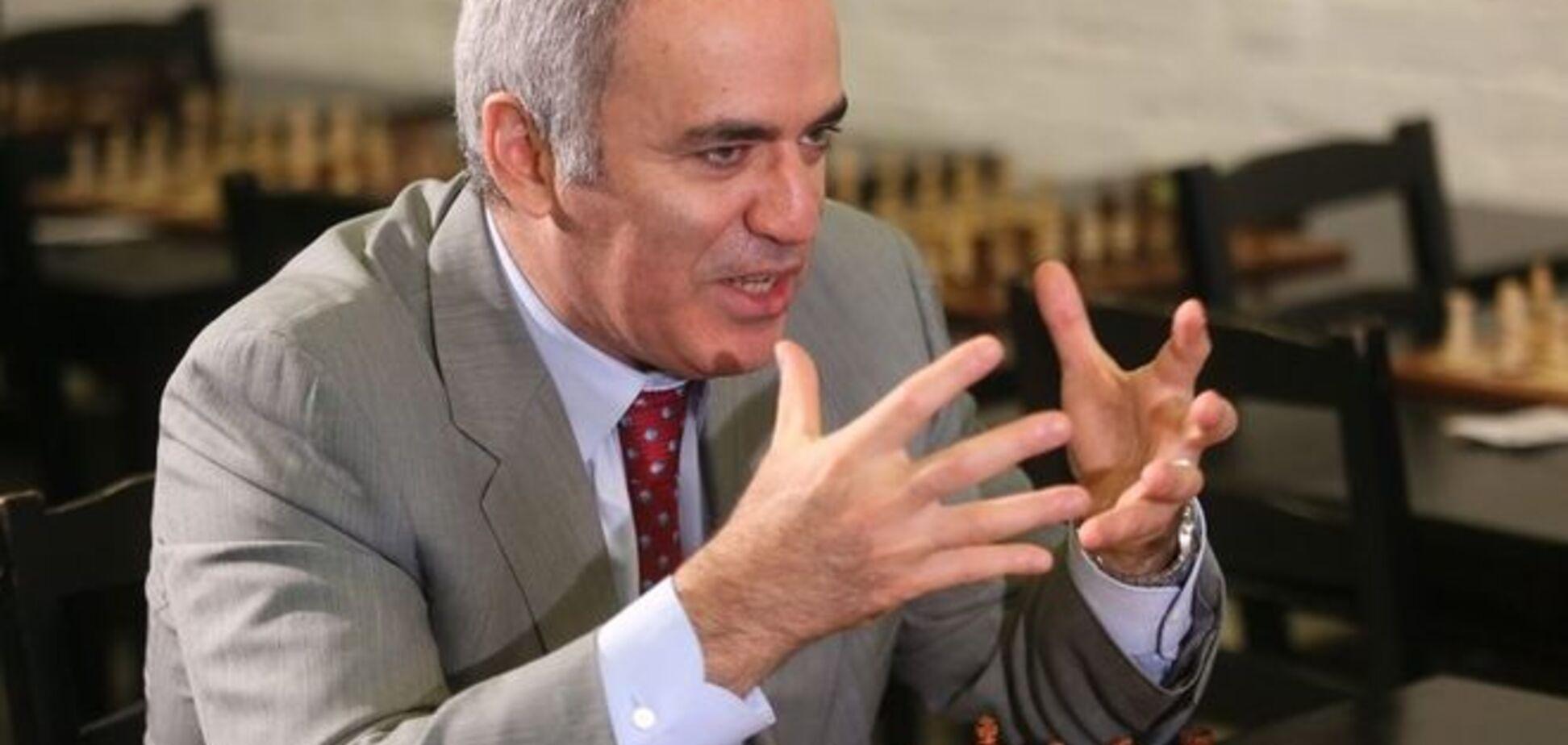 Каспаров рассказал, как шахматы помогают Путину искать слабые места Украины