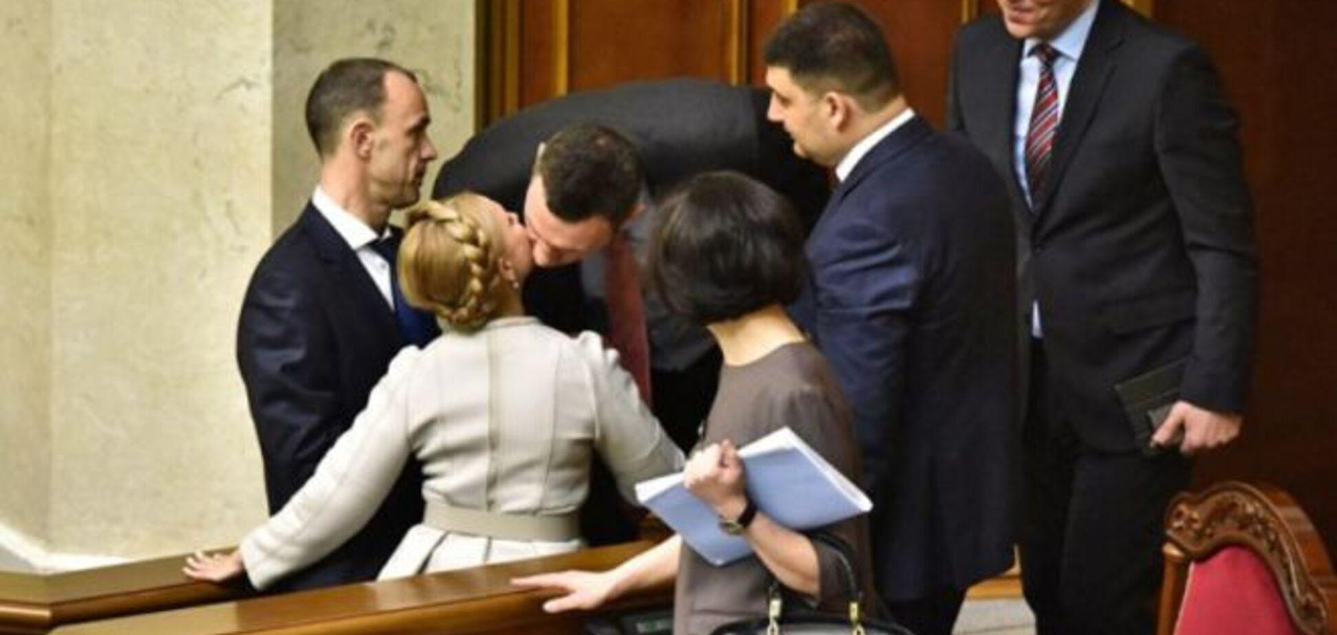 Топ самых ярких поцелуев в украинской политике: пылкие, неожиданные и лицемерные