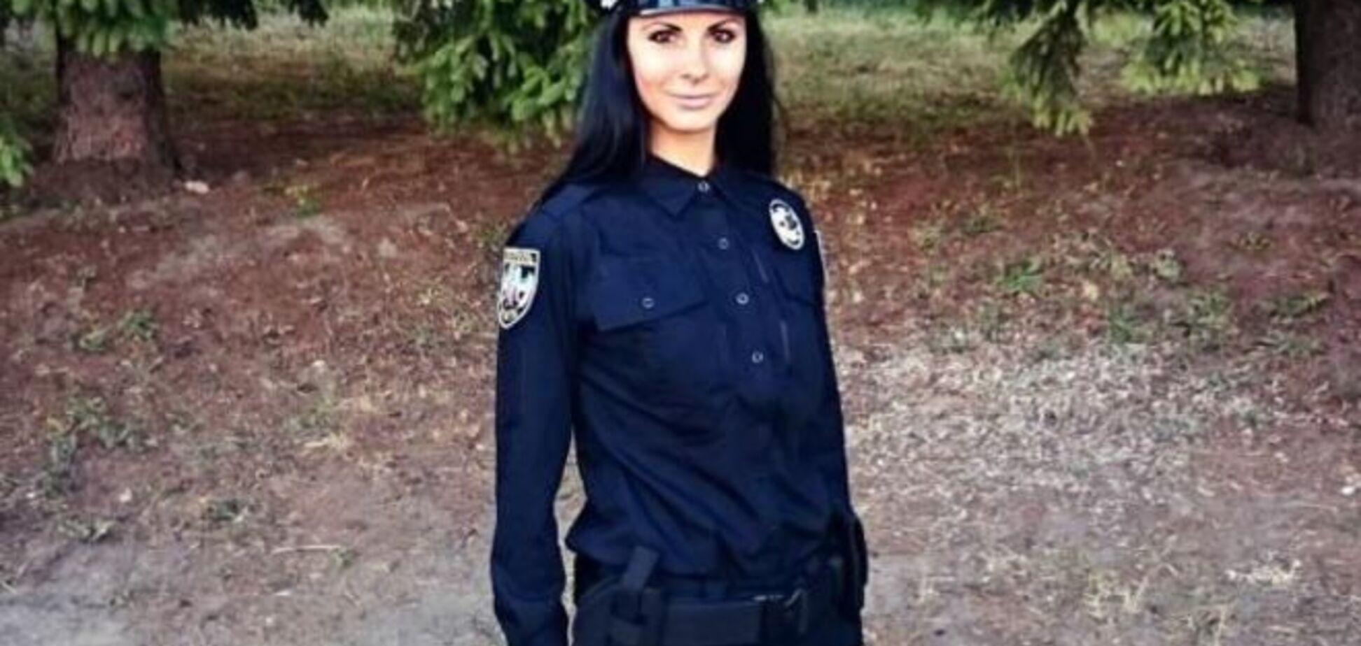 Начальник полиции прокомментировал скандальные фото красотки-копа