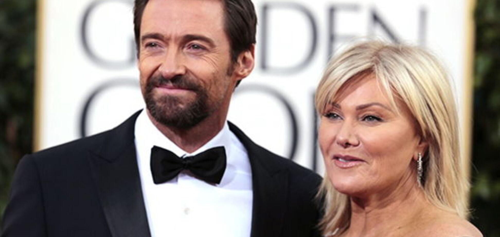 Жена Хью Джекмана запретила актеру сниматься с Джоли