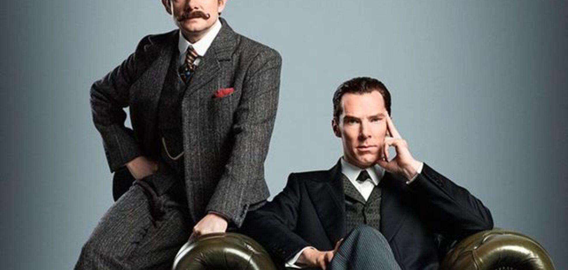 ВВС показал первое фото из новой серии 'Шерлока'