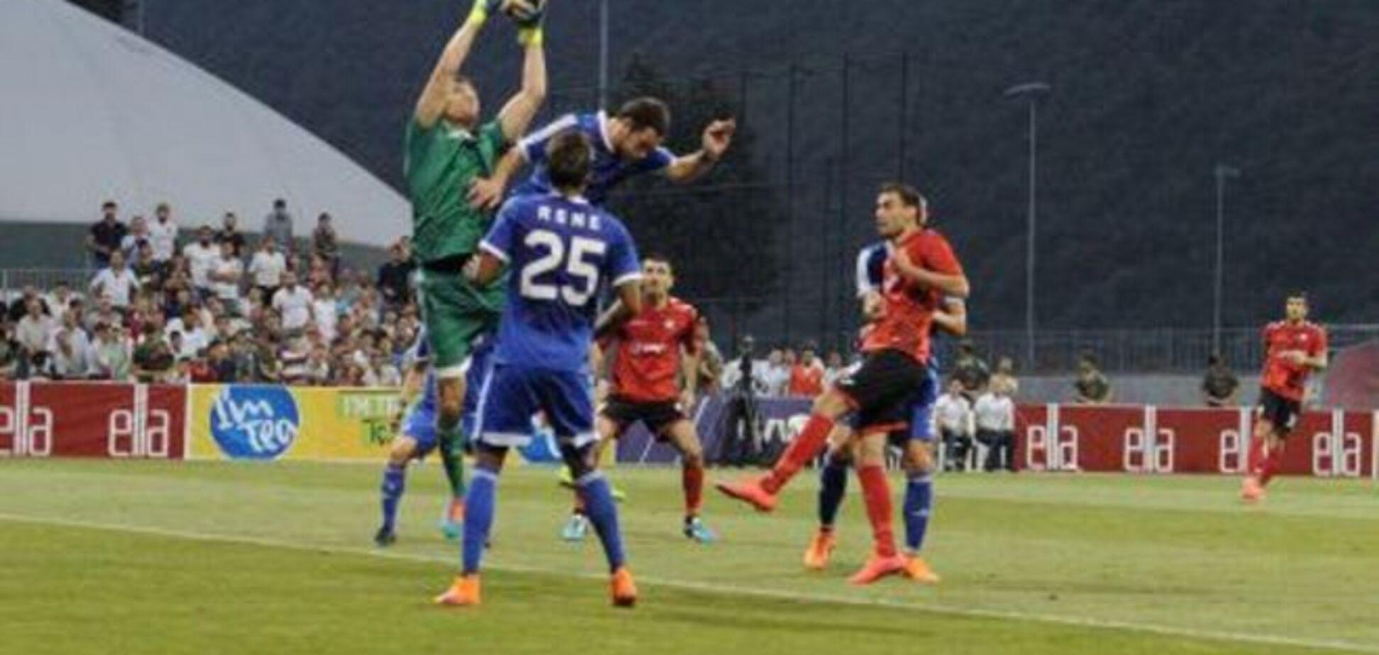 Команда Григорчука вышла во второй раунд Лиги Европы