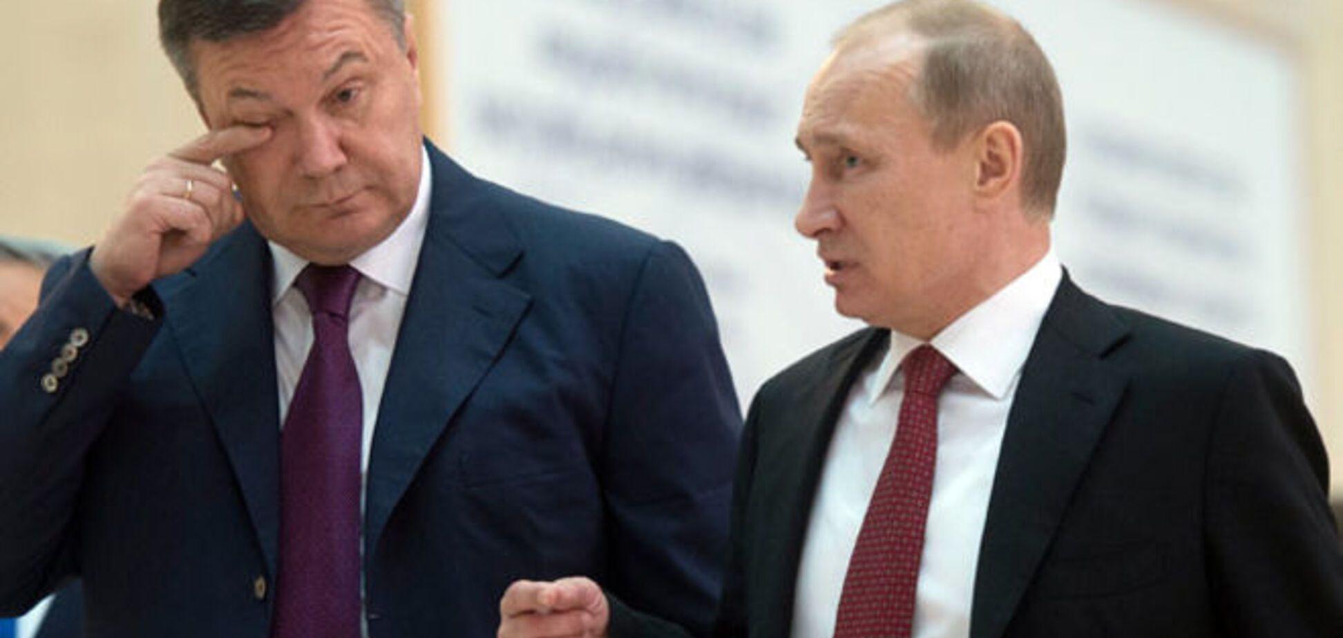 В России предложили судить Путина за похищение Януковича