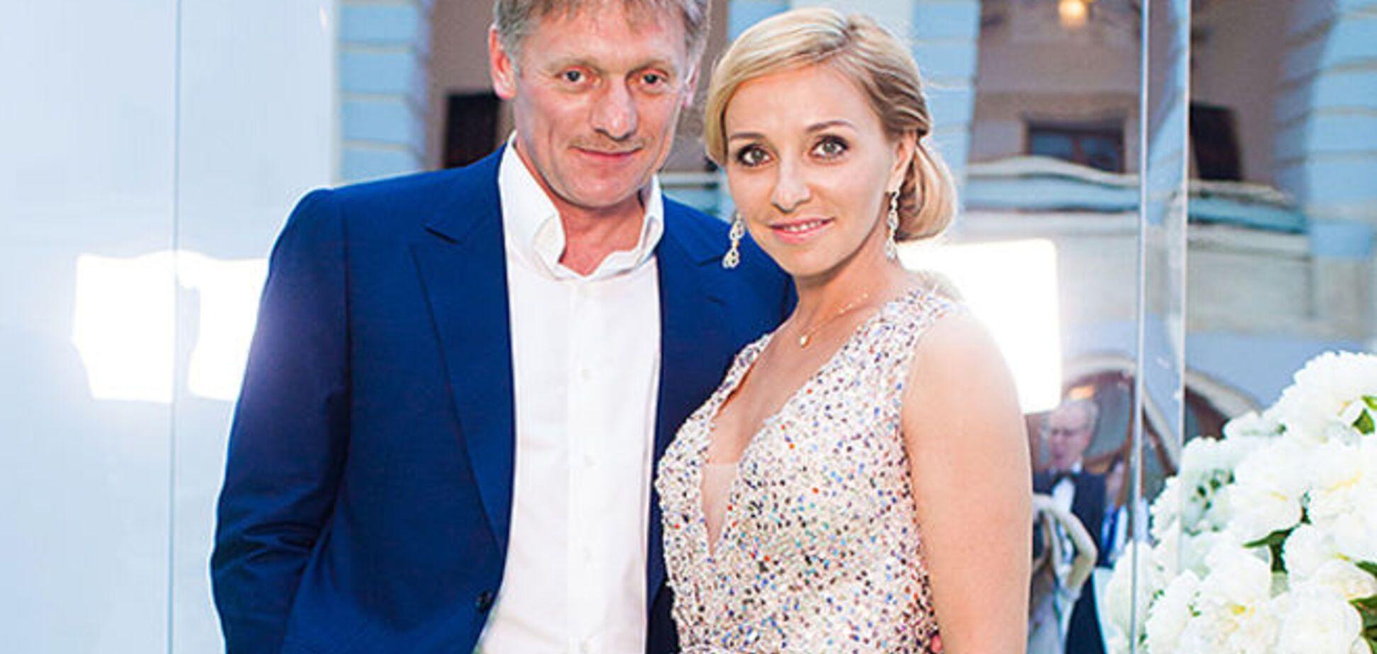 Пресс-секретарь Путина и фигуристка Навка поженились