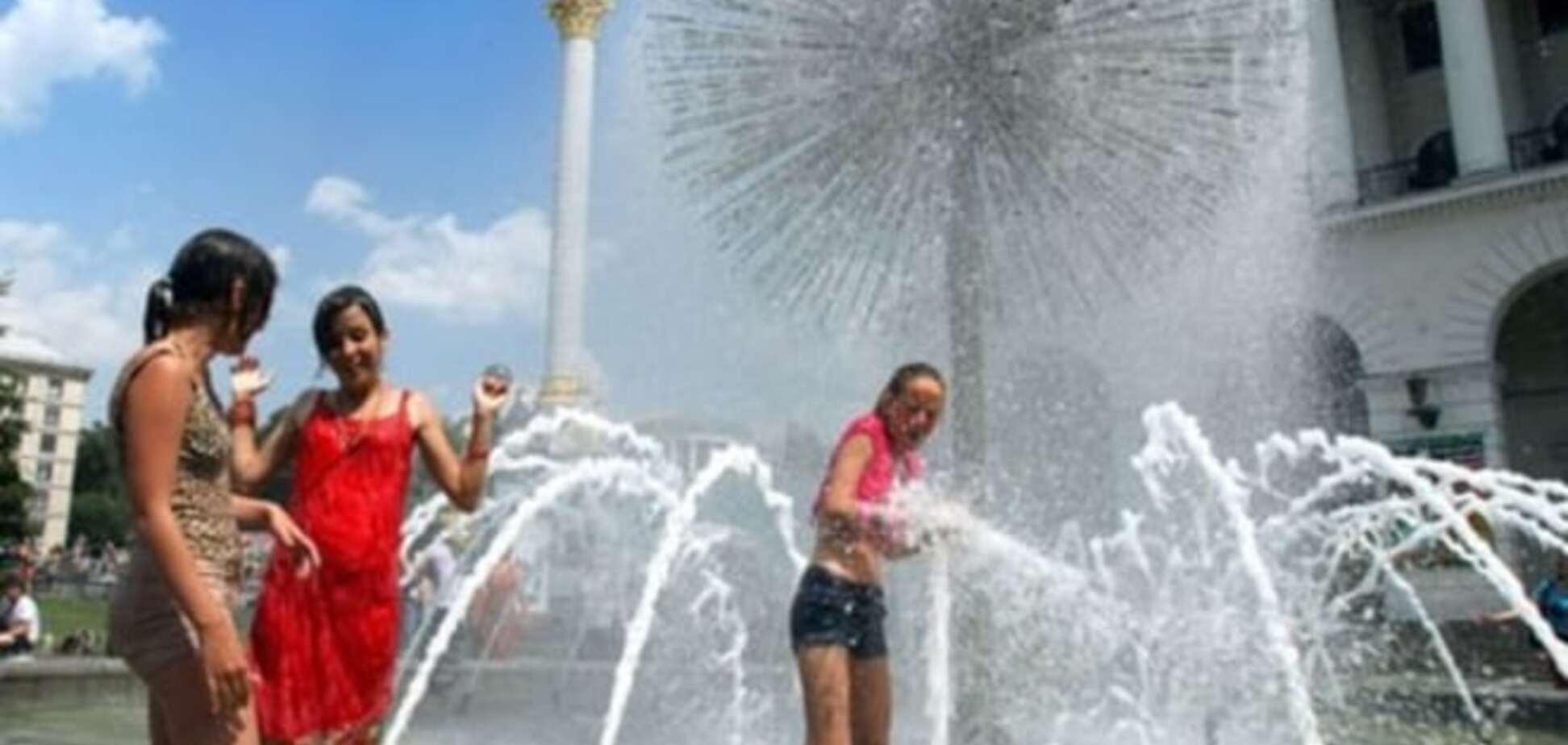 Жара в Киеве побила рекорд 84-летней давности