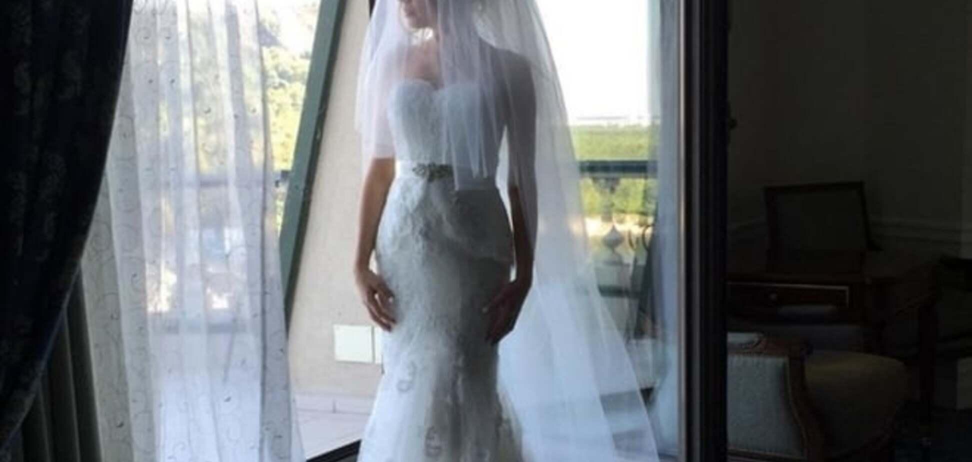Жена футболиста 'Динамо' показала волшебные фото со свадьбы