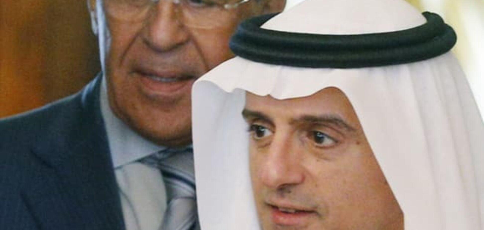 Лавров обізвав дебілом голову МЗС Саудівської Аравії: відеофакт