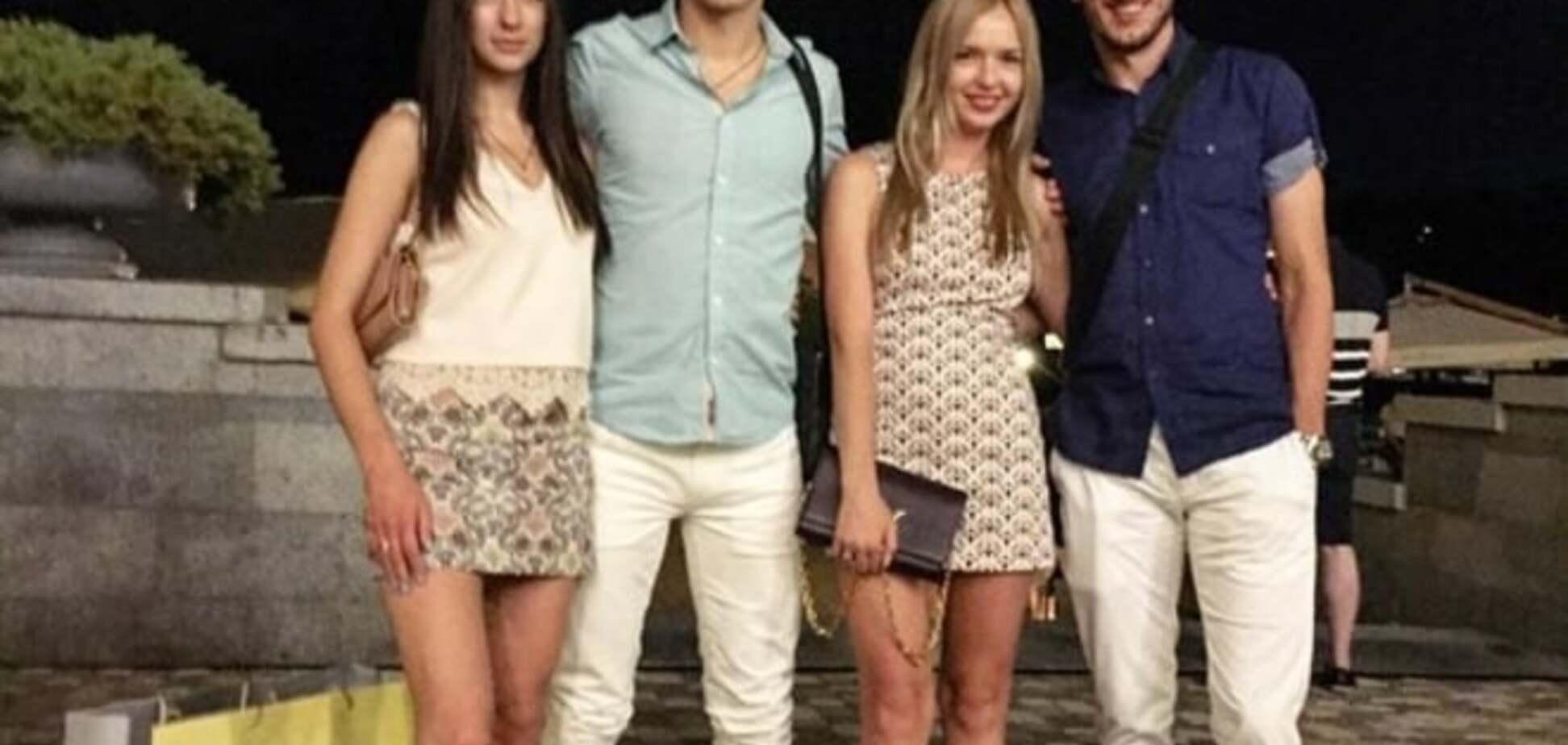 Жены футболистов 'Шахтера' покорили киевлян роскошными ножками: эффектные фото