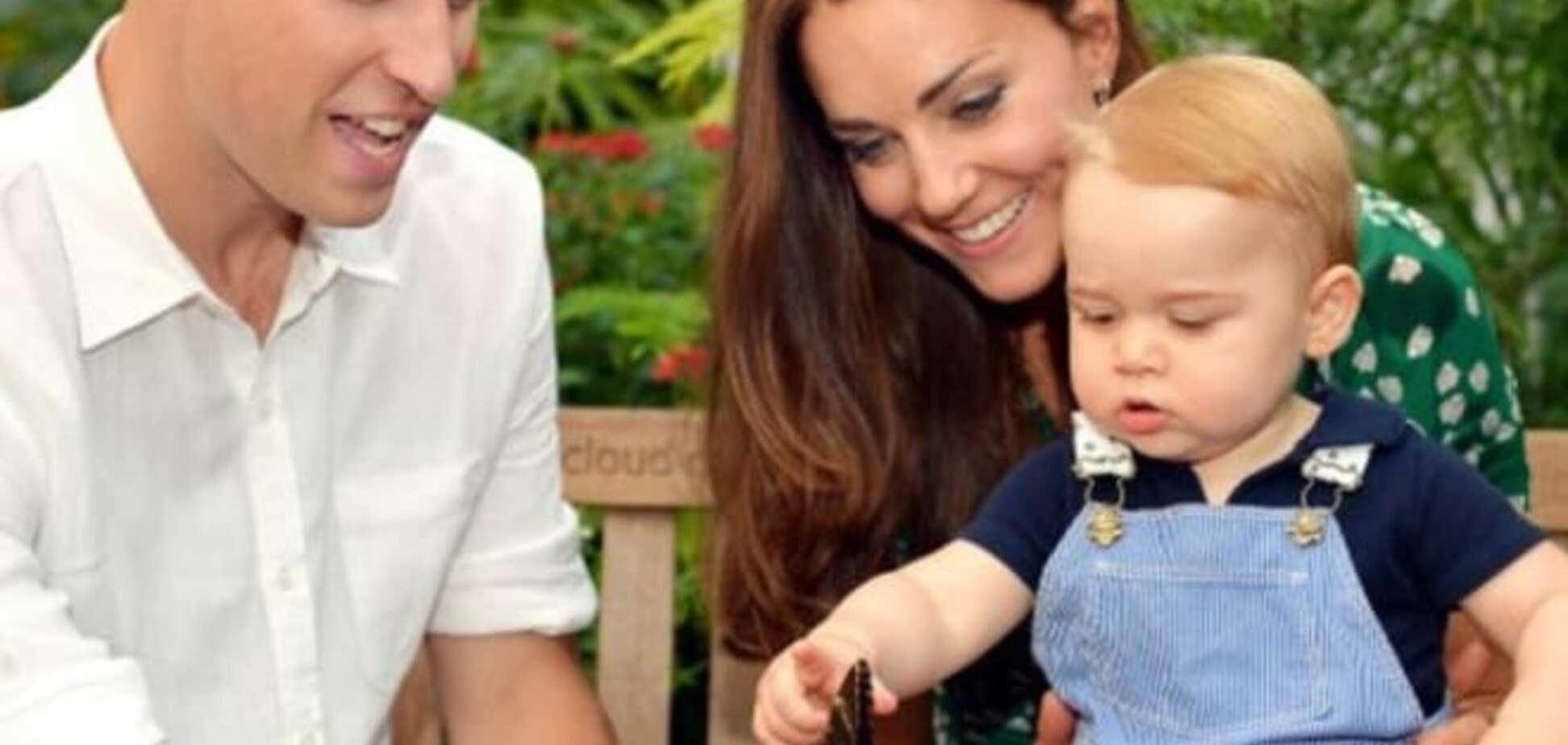 Двухлетнего принца Британии замучили папарацци