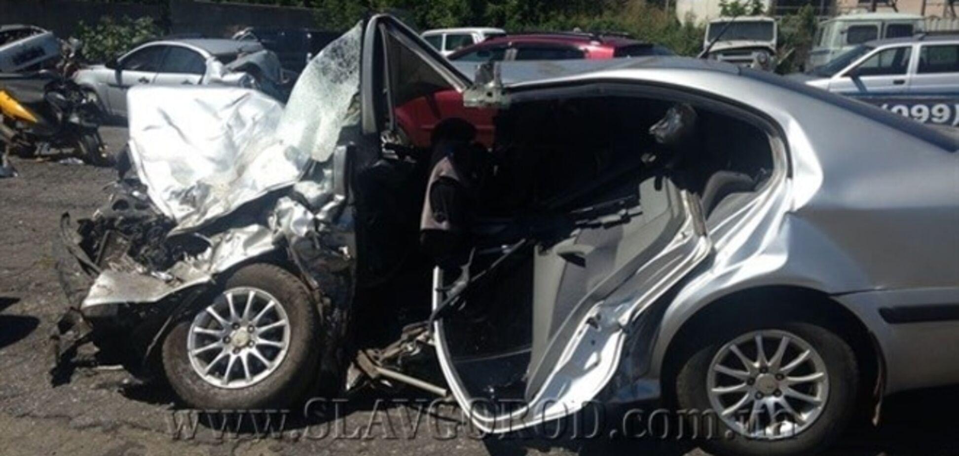 В Славянске умер мальчик, попавший в ДТП с милиционером