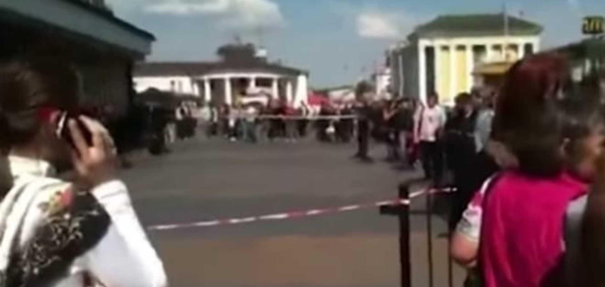 В Киеве женщина 'заминировала' ж/д вокзал