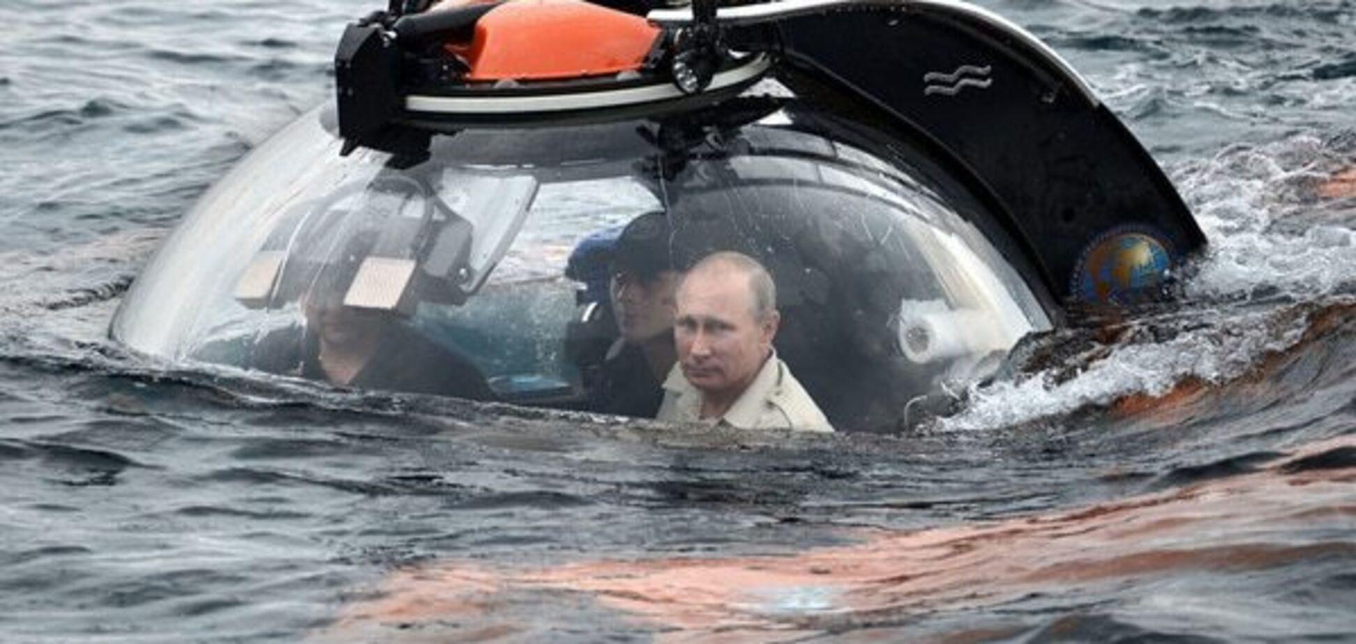 Путіна в батискафі порівняли із лиходієм у фільмах про Джеймса Бонда