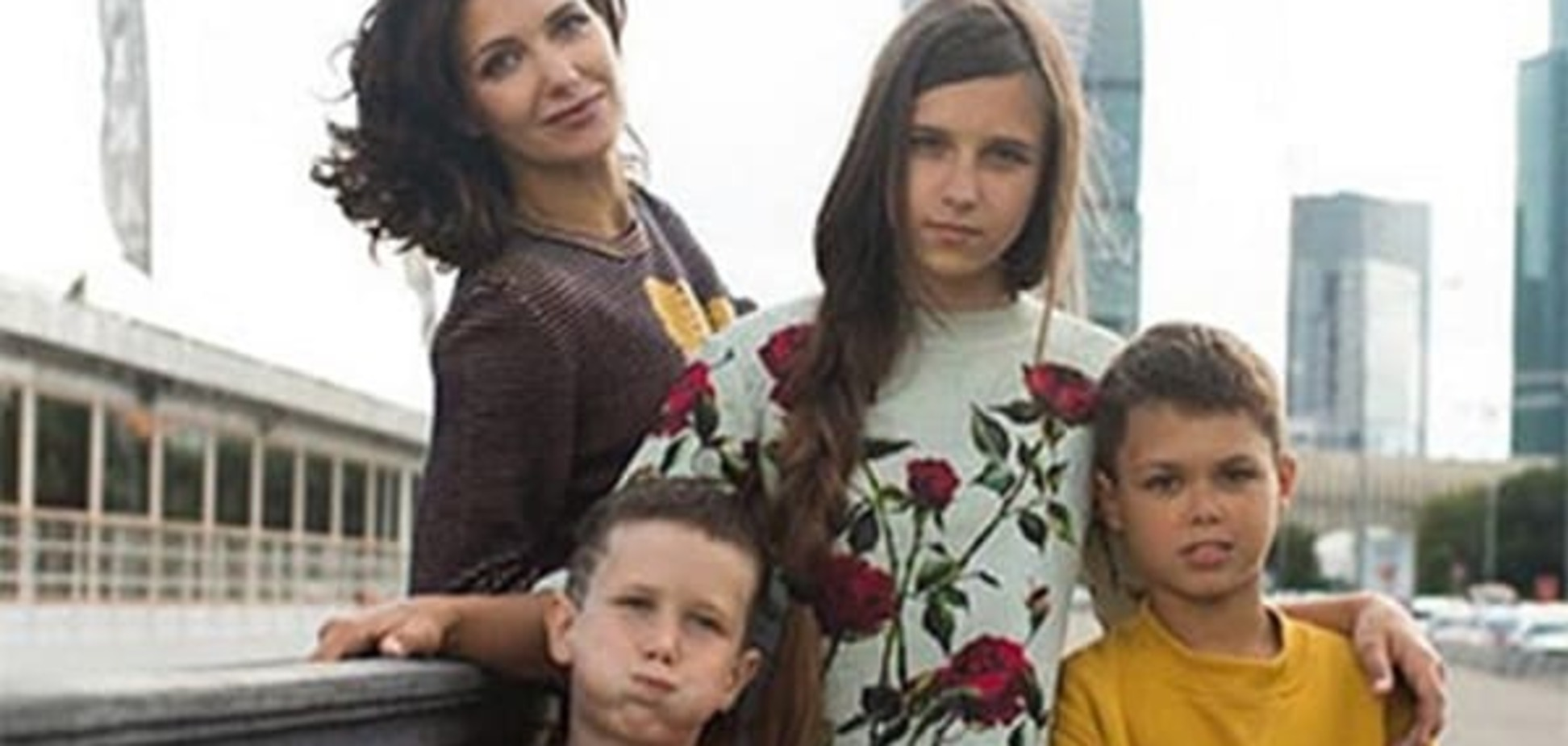 Беременная Екатерина Климова показала подросших детей