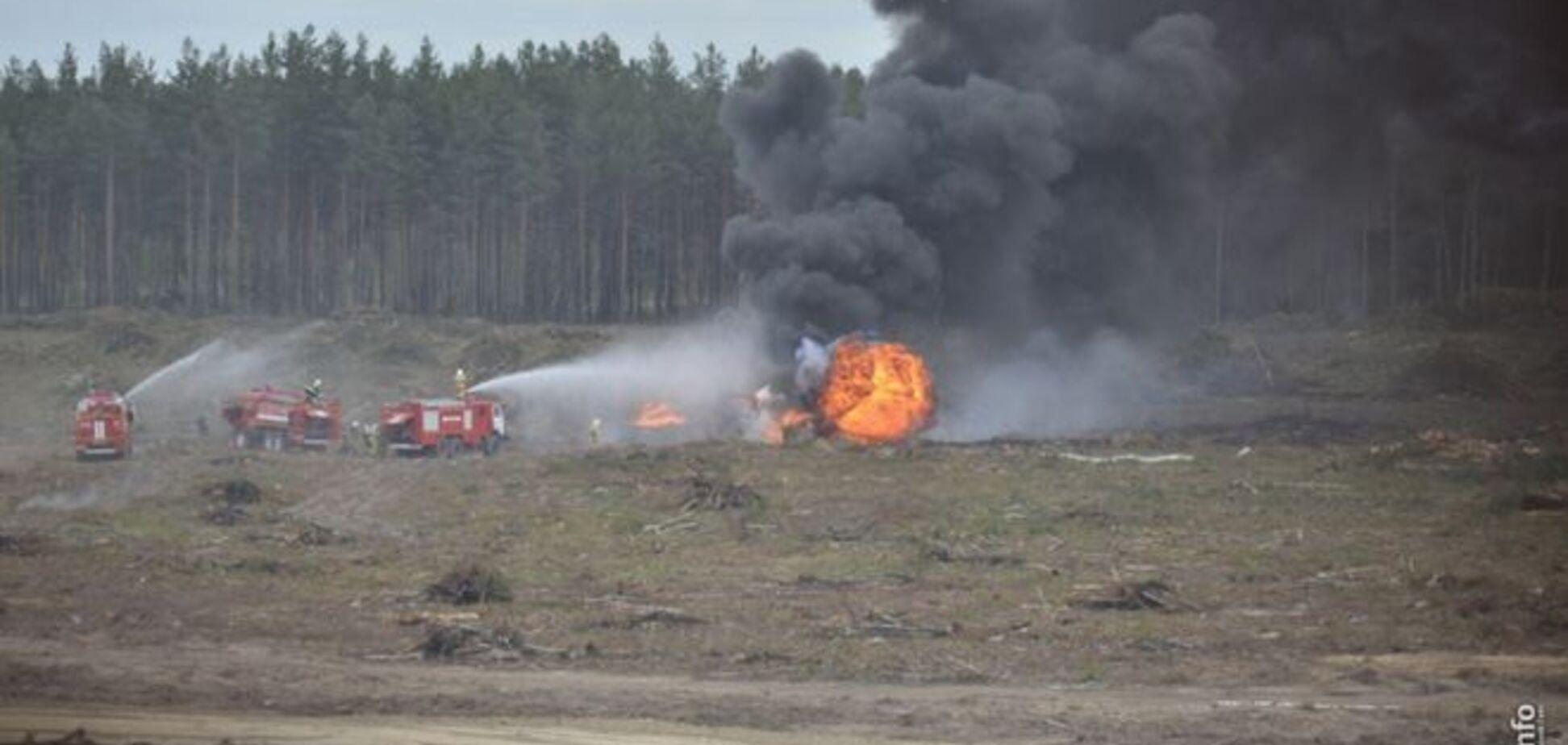 В России прямо во время авиашоу рухнул новейший боевой вертолет: опубликованы фото и видео