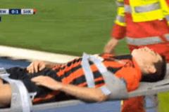 Футболисту 'Шахтера' пришлось зашивать голову после матча Лиги чемпионов
