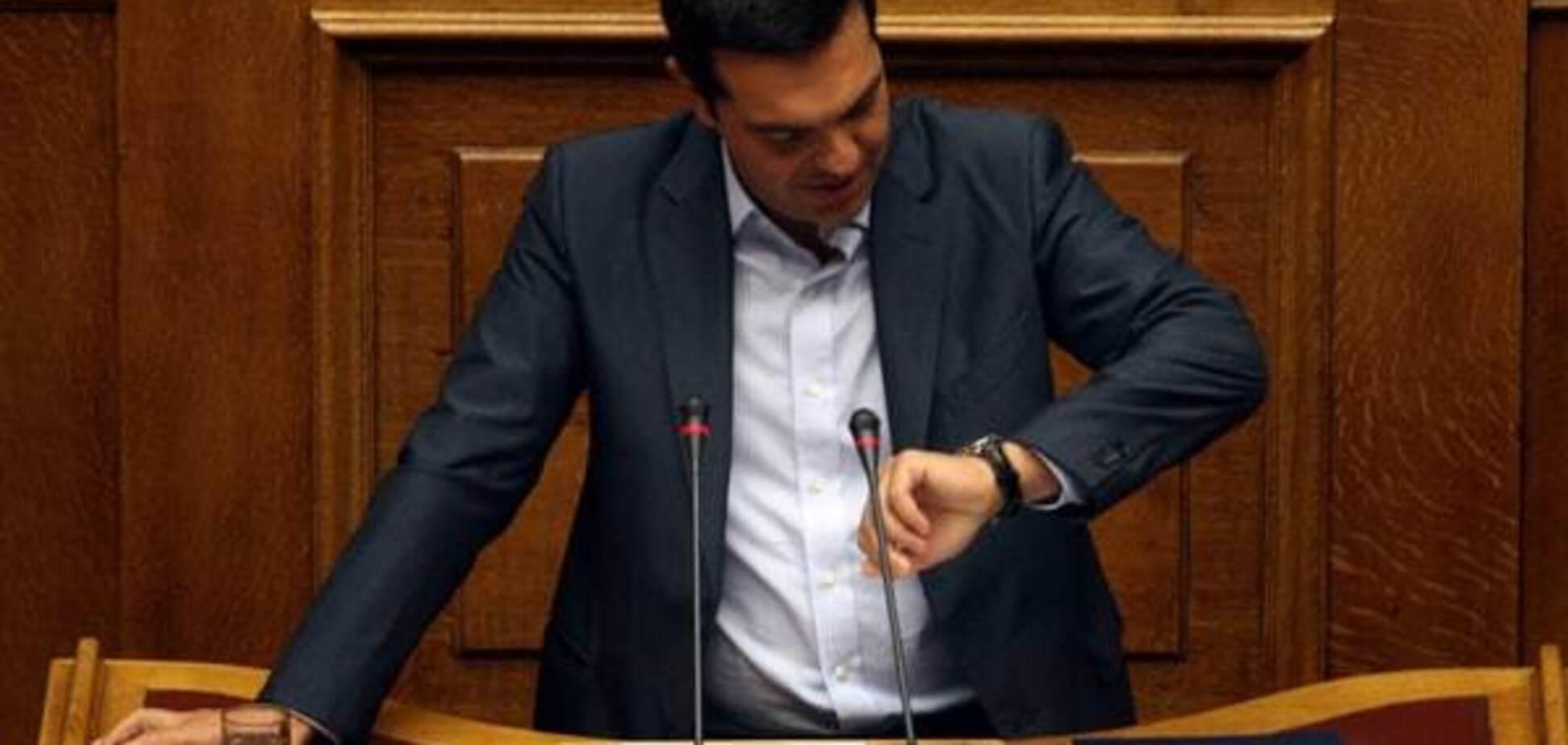 Премьер Греции Ципрас подал в отставку