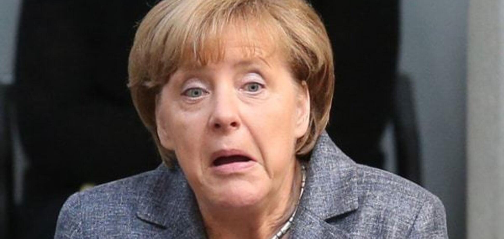 Достали! У Меркель вытянулось лицо при упоминании о деньгах для Греции: фотофакт