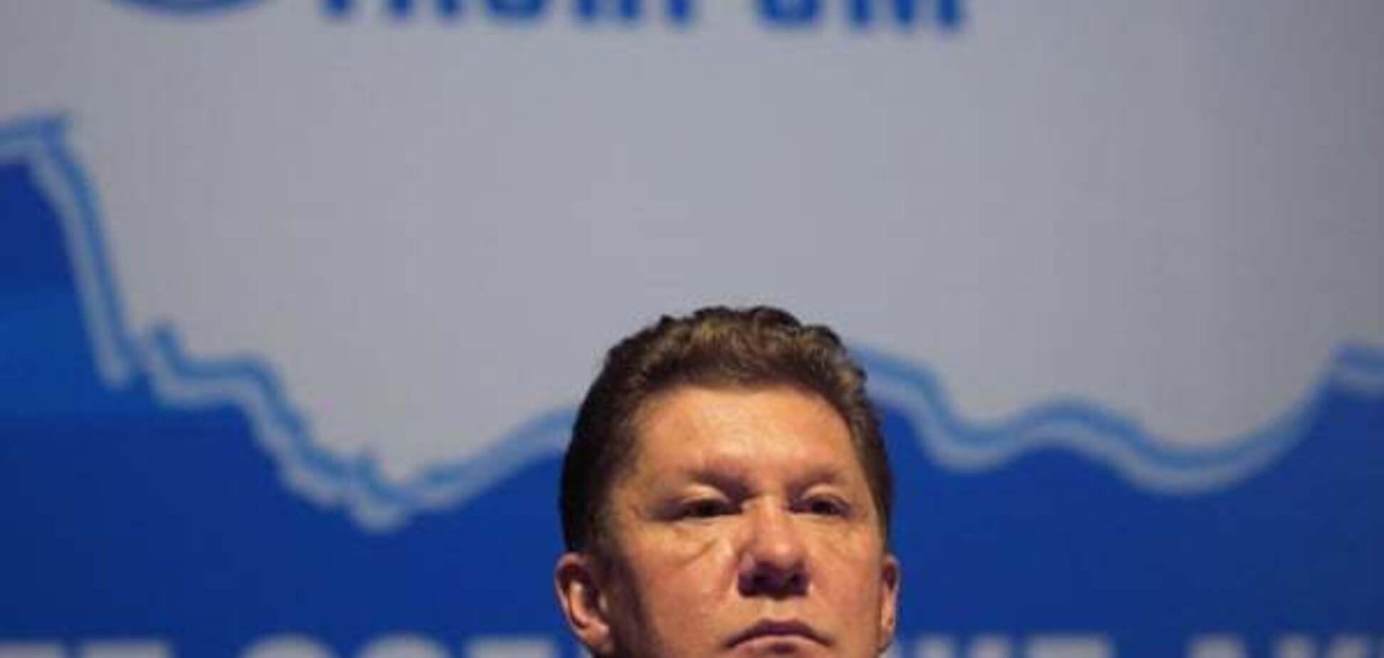 'Газпром': Україна залишиться  без російського газу