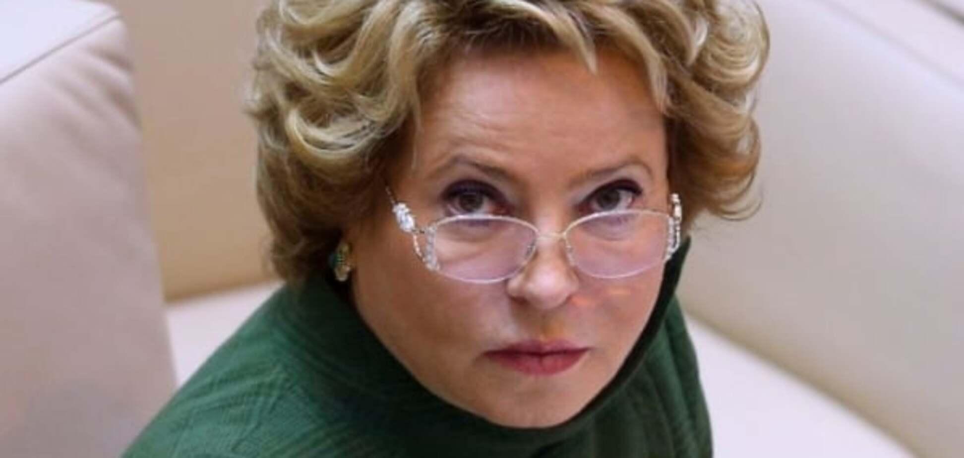 СМИ узнали, что США авансом 'закрыли рот' Матвиенко визовым отказом