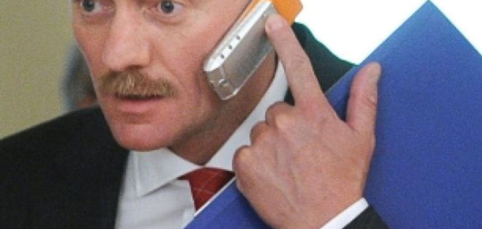 Пєсков виправдався про дорогий 'подарований' годинник: це нікого не хвилює