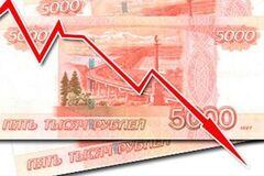 Обвал рубля в России: эксперт назвал роковую ошибку Кремля